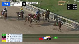 Vidéo de la course PMU ALLOWANCE OPTIONAL CLAIMING 1600M