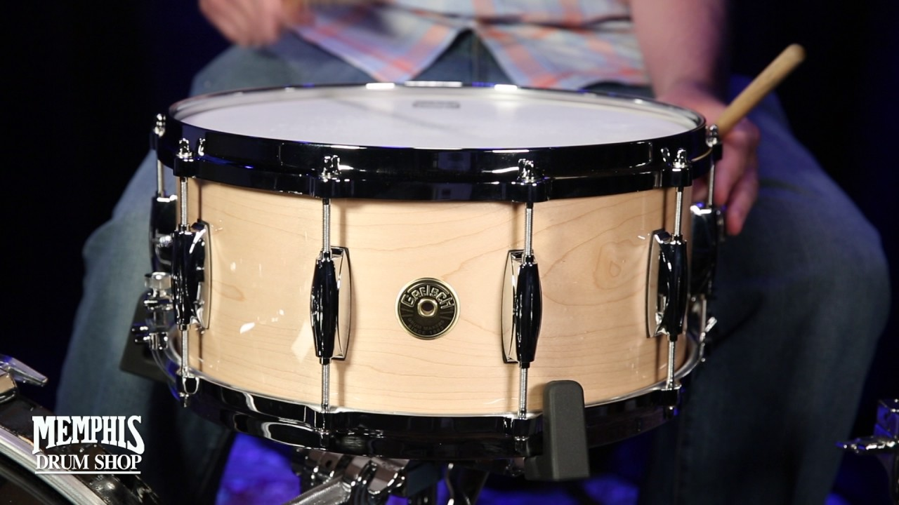 gretsch 14x6 5 usa custom solid maple snare drum youtube. Black Bedroom Furniture Sets. Home Design Ideas
