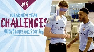 BLINDFOLDS! STONES & STERLING v LESCOTT & CHAPPY! | Lunar New Year Challenge 4