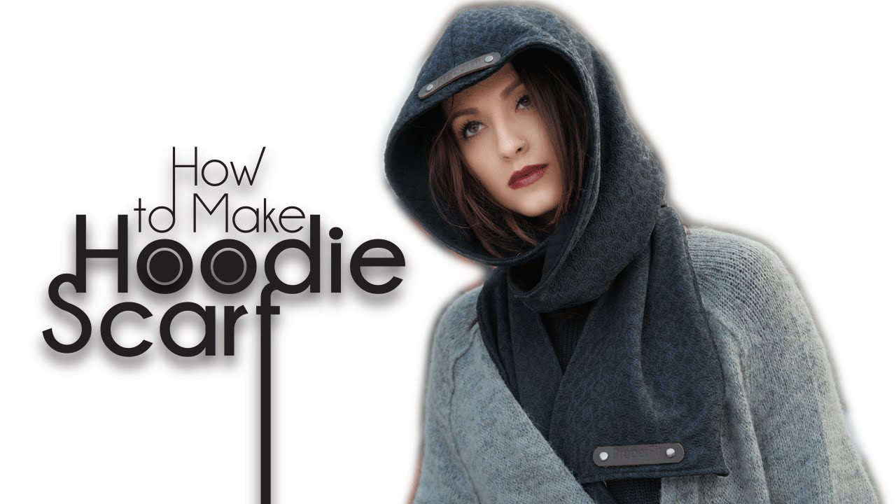 Hooded Scarf Pattern Best Decorating Design