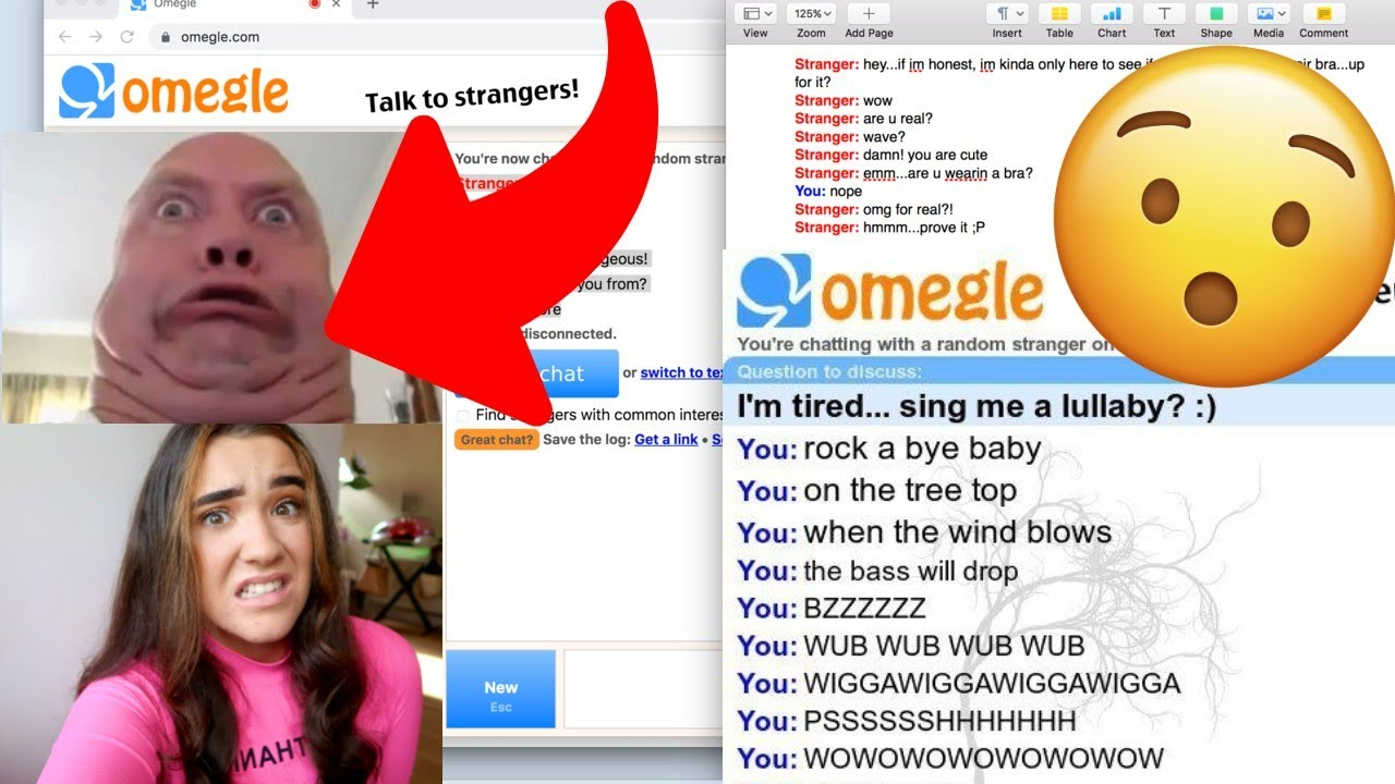 ASKING PEOPLE WHY ARE THEY ON OMEGLE SO YOU DON'T HAVE TO *THIS GETS WEIRD*