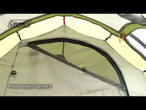 Coleman® Tasman 4 Tent & Coleman® Tasman 4 Tent - YouTube