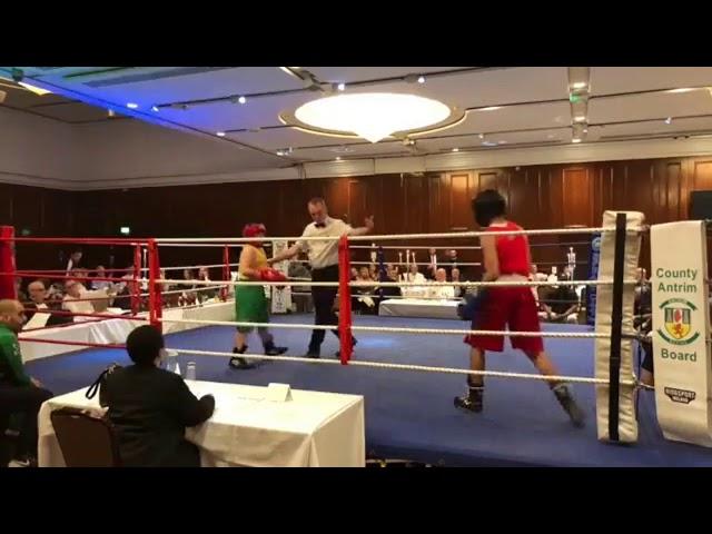 2018 County Antrim Belfast Boxing Classic - Fight 1