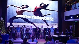 Norwegian Escape Entertainment: Dance Competition aka Dancing with the Stars