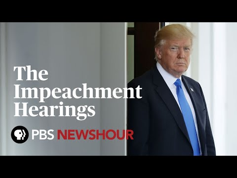 Watch Live: Trump Impeachment Hearing - House Judiciary Committee - Day 1