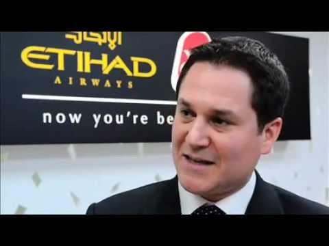 Peter Baumgartner, Chief Commercial Officer, Etihad Airways @ ITB Berlin 2012