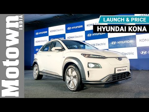Hyundai Kona electric SUV | Launch & Price | Motown India