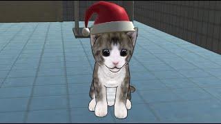 El gatito se escapa - El gato lindo se ha escapado, ¿podrá encontrarlo su dueño?