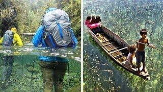 10 wunderschöne Orte. Die kristallklaren Gewässer unserer Erde!