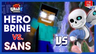 Ai Thắng: HEROBRINE vs SANS - Minecraft vs Undertale | Giả Thuyết Game - meGAME