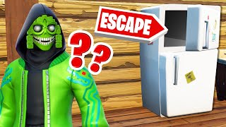 Find The SECRET PASSAGE To ESCAPE! (Fortnite)