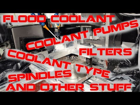 How to make a cnc Flood Coolant Filter