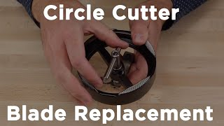 Adjustable Circle Cutter - Cutting Blade Replacement