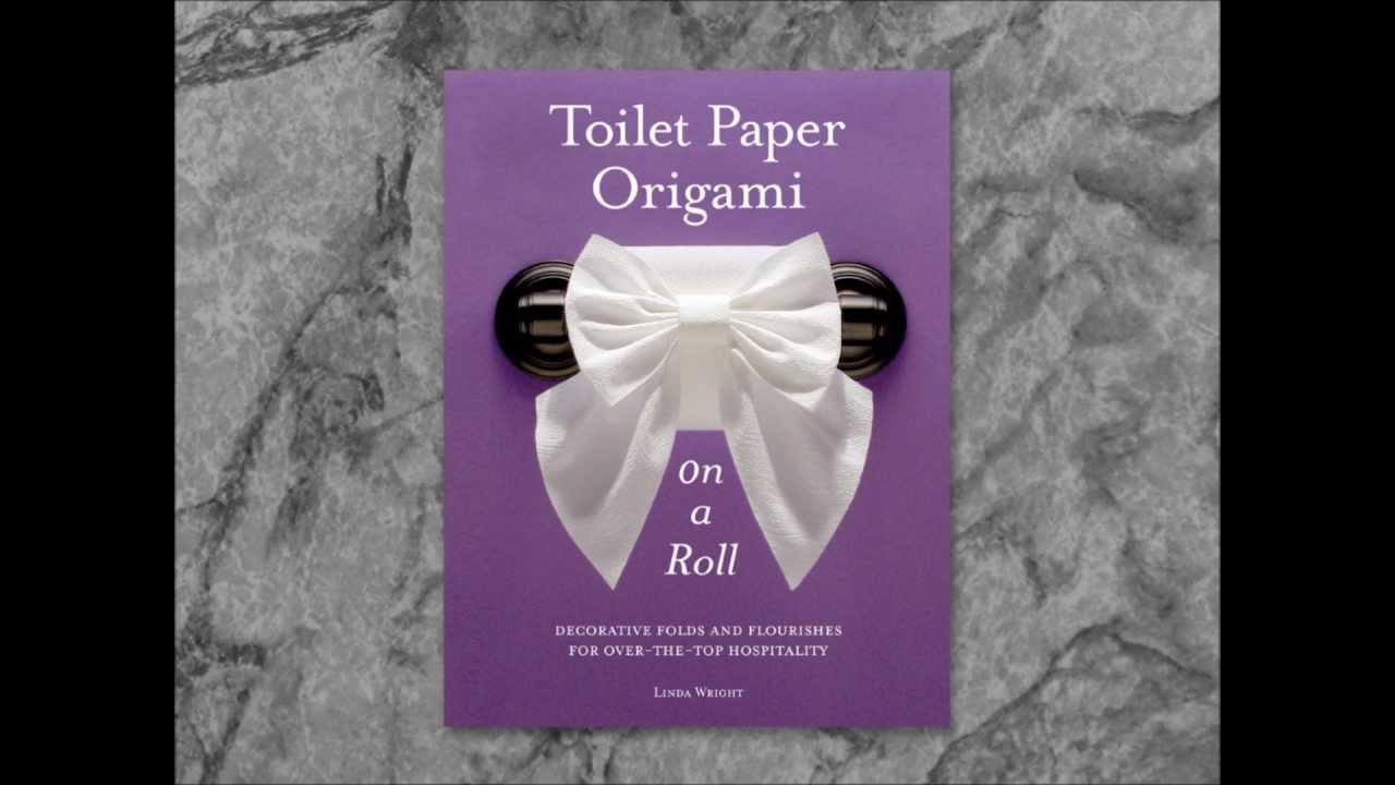 Toilet Paper Origami Book