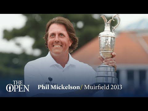 Phil Mickelson wins at Muirfield | The Open Official Film 2013
