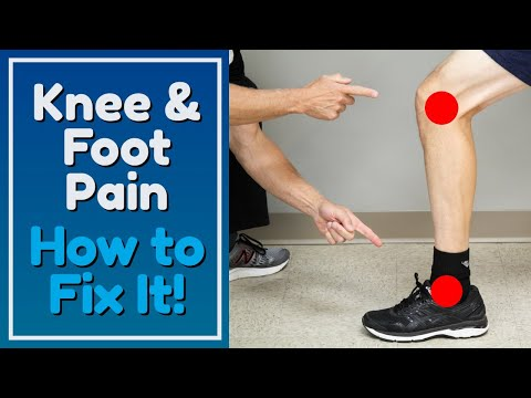 One Bad Habit May be Causing Your Knee or Foot Pain. How to Fix It!