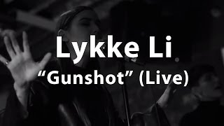 "Lykke Li - ""Gunshot"" Live at Converse Rubber Tracks - FADER TV"