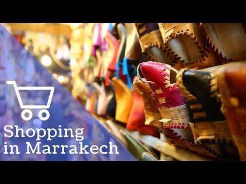 CHRISTMAS SHOPPING IN THE SOUKS | Marrakech, Morocco