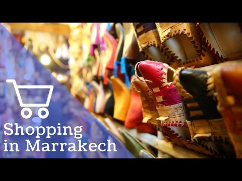 CHRISTMAS SHOPPING IN THE SOUKS | Marrakech, Morocco