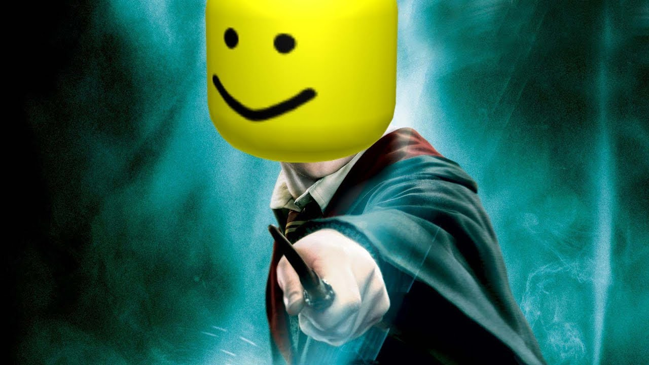 Harry Potter But It S The Roblox Death Sound Youtube