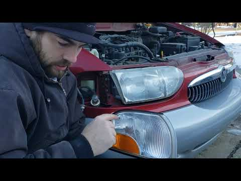 1999 Mercury Villager Marker Light Replacement DIY