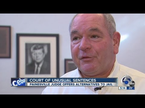 Painesville judge gives unusual sentence