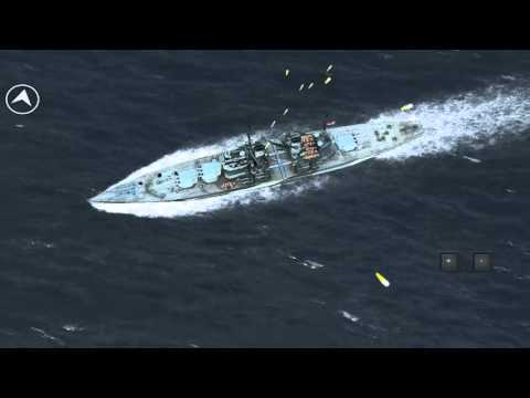 Atlantic Fleet: Stuka bomb strikes Vs HMS Lion