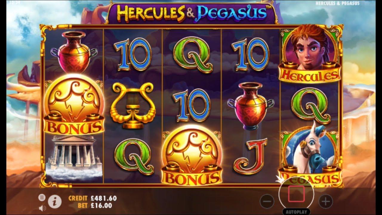 Hercules and Pegasus Slot Machine