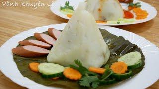 BÁNH GIÒ - Cách làm Bánh Giò mềm mịn - Cách gói bánh giò nhân thịt by Vanh Khuyen