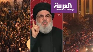 حسن نصر الله توعد من يترك الحكومة بالمحاكمة والمحاسبة