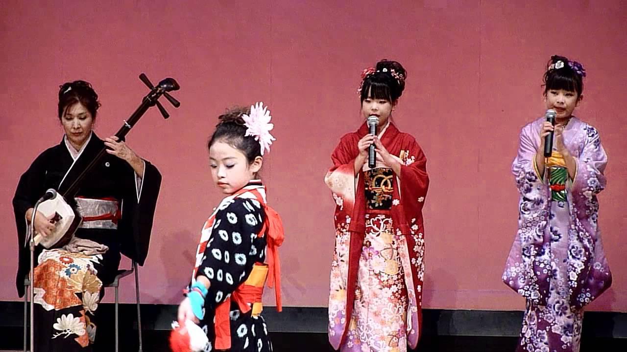 民謡「チャグチャグ馬コ」(矢巾町民謡保存会ゆりの会) - YouTube