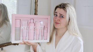 KYLIE SKIN REVIEW AND FIRST IMPRESSIONS ♡ Kylie Jenner skincare worth the hype?