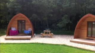 Cwmcarn Forest Drive camping pods