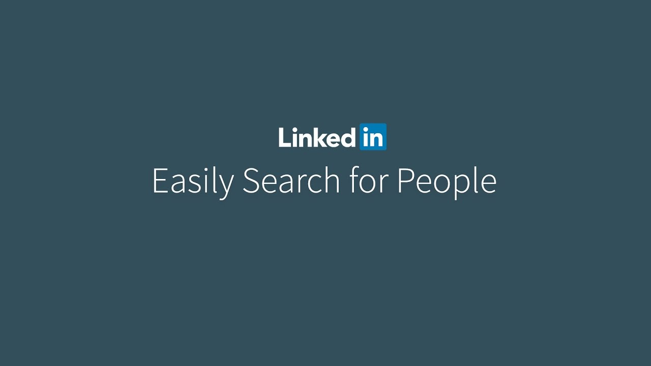 LinkedIn People Search
