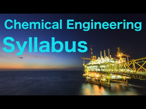 Unit Operations in Chemical Engineering (E13)