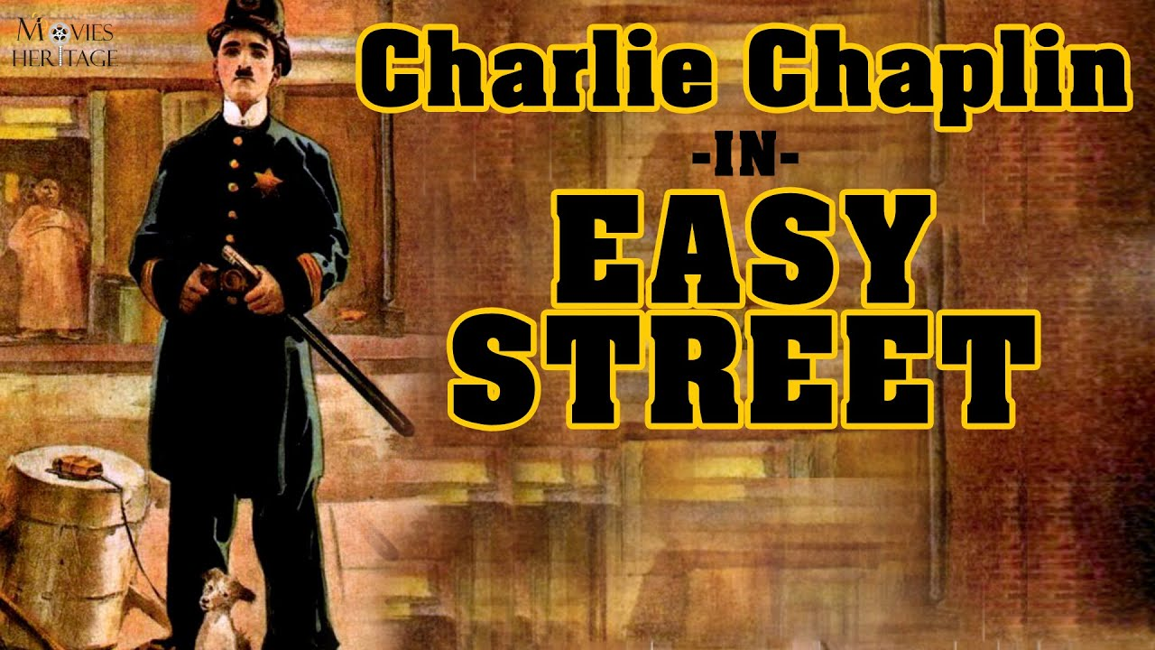 Image result for chaplin in easy street