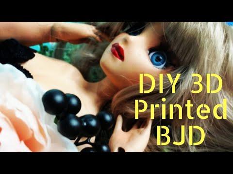 3D Printed 1/3 scale BJD   Faceup   Body Blushing & contouring