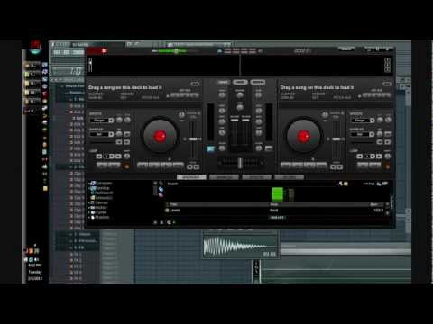 Avicii - Le7els (Playing with Virtual DJ and FL Studio 10) (Demo by vanDAL)