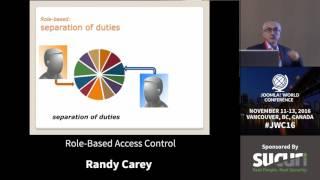 JWC 2016 - Role-Based Access Control - Randy Carey thumbnail