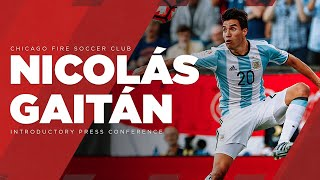 Watch Live | Nicolás Gaitán's introductory press conference at SeatGeek Stadium thumbnail