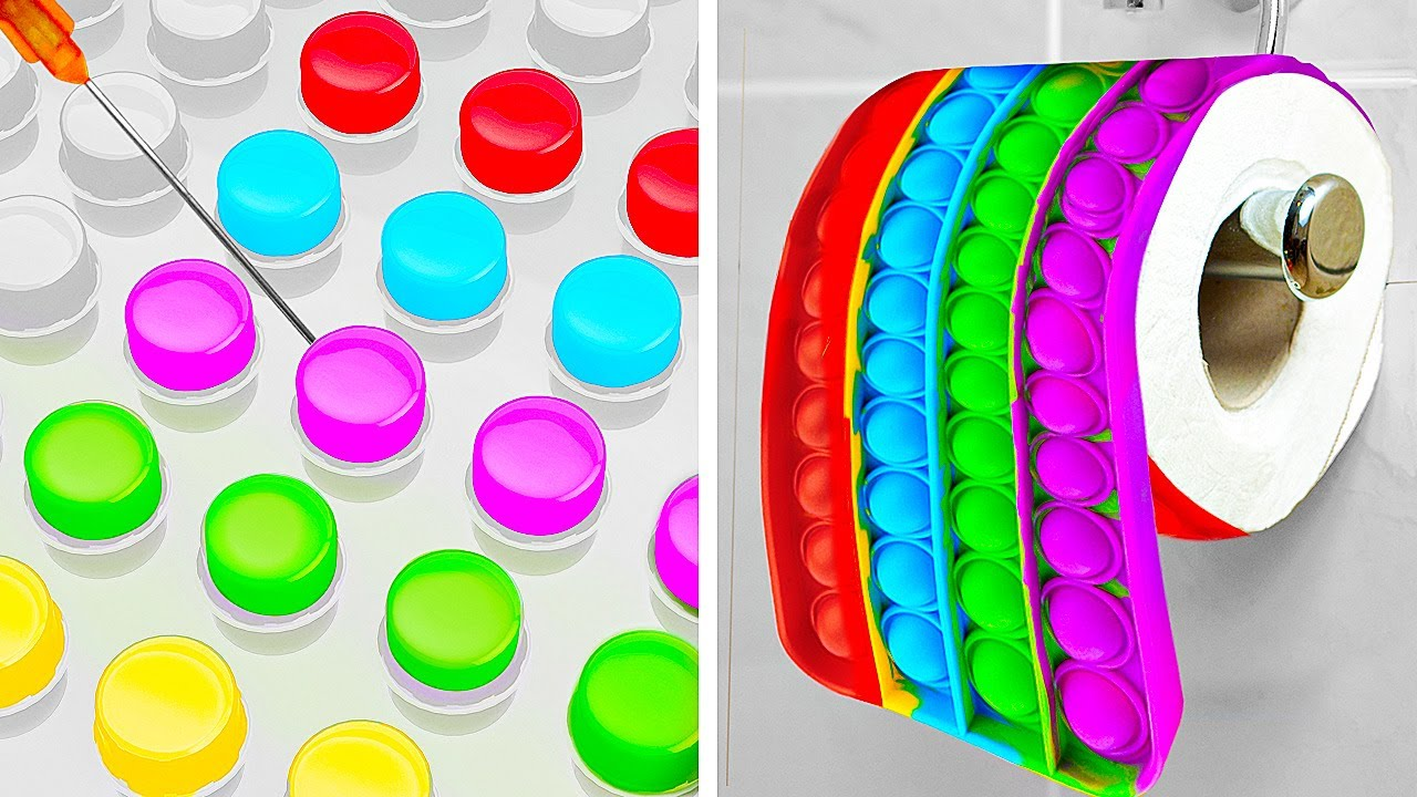 POP IT! EVERYWHERE! Coolest Crafts And Easy DIY Ideas