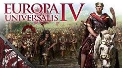 Let's Play EU4 Imperium Universalis Ep1 ROMA INVICTA!