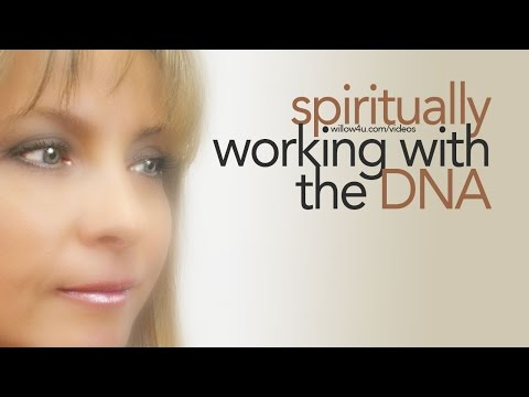 Spiritually working with the DNA
