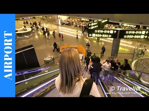 Flight Transfer At Doha Airport (Hamad International Airport) - How To Walk To A Connection Flight