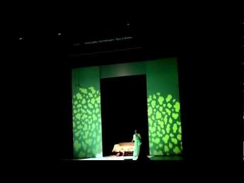 Nikos Spanatis Countertenor (Oberon) / Greek National Opera / Britten Midsummer Night's Dream 4/2010
