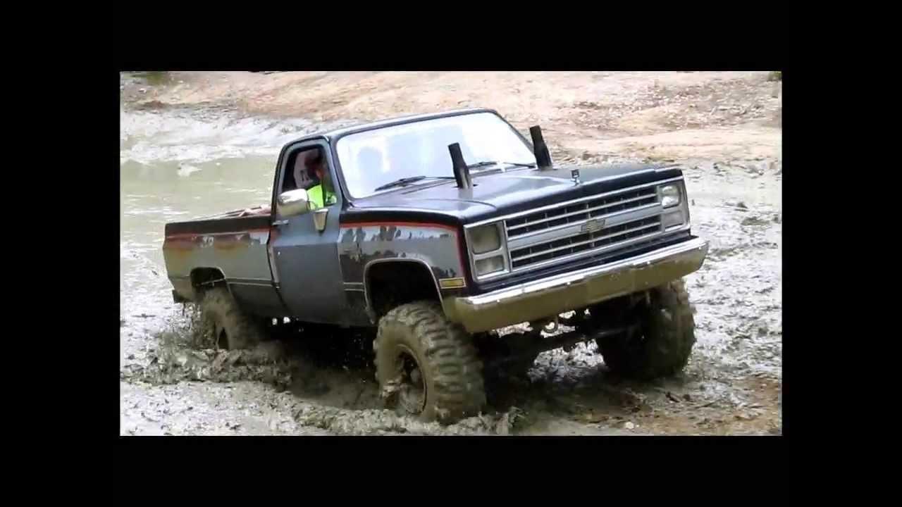7 Chevy Mud Truck At Diamond S Mud Bog Spring 2013