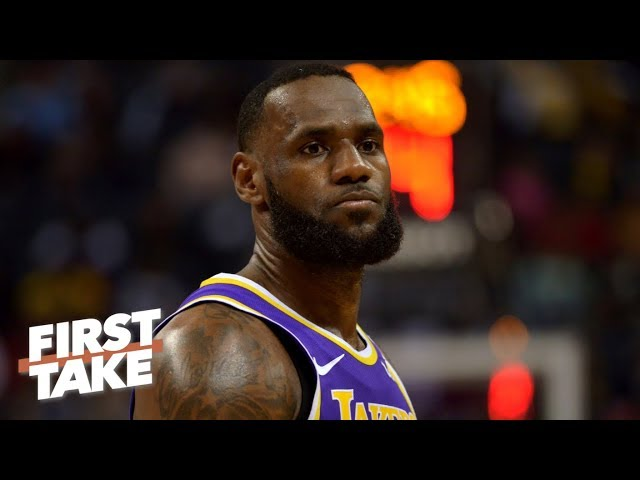 Is shutting down LeBron the right move for the Lakers? | First Take