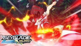 BEYBLADE BURST EVOLUTION Episódio 35: Subindo no Pódio!