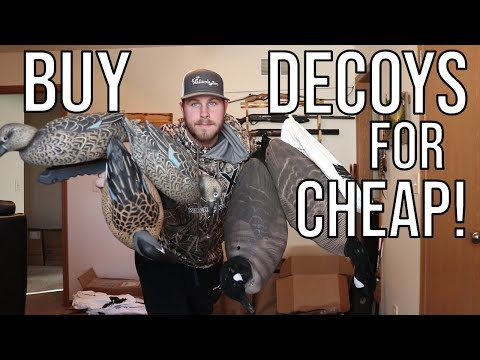 Get Decoys For CHEAP | Waterfowl Wednesday