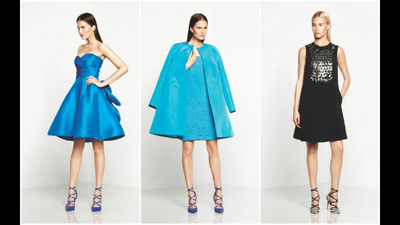 Que vestidos de moda para fiesta usar para ir a una boda? #Fashion ...